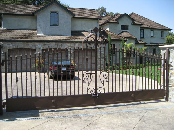 Wrought Iron Gate Sacramento