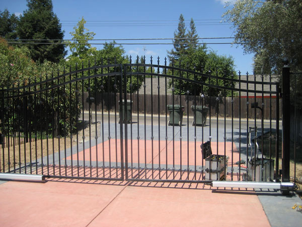 Iron Driveway Gates in Sacramento